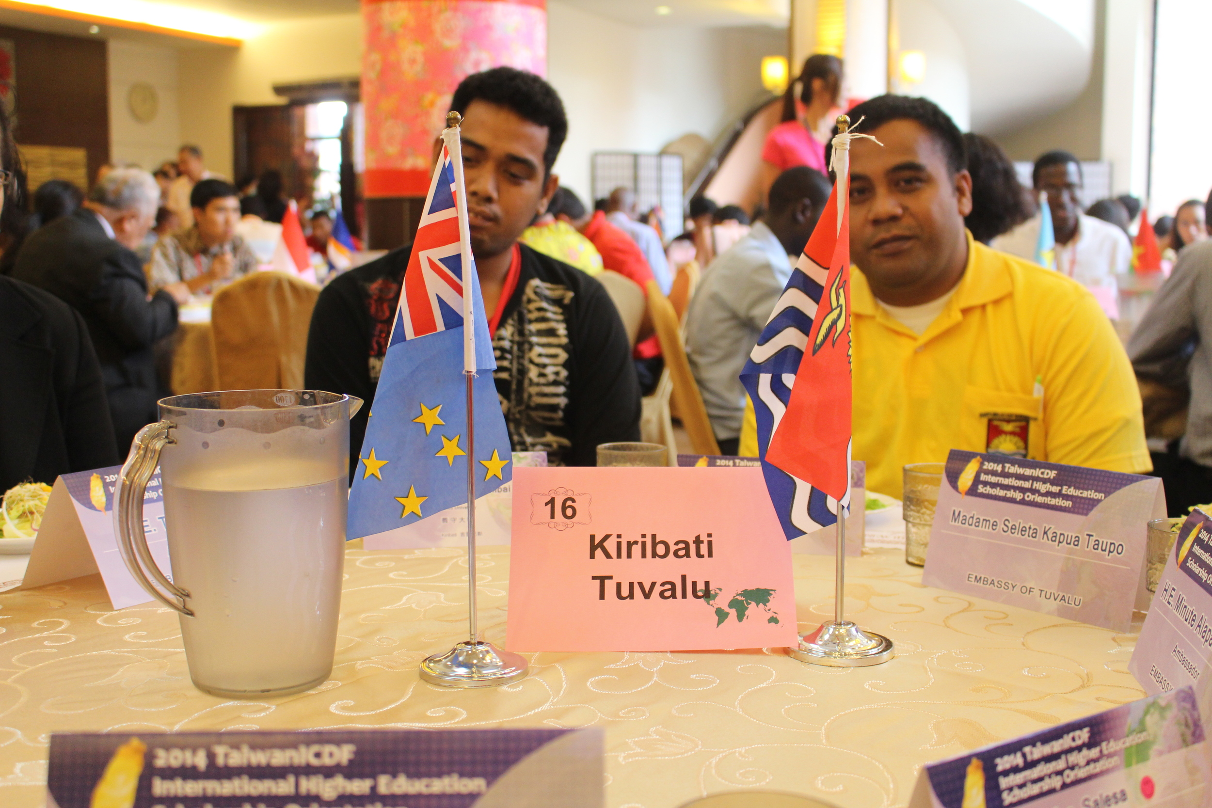Students from Kiribati/來自吉里巴斯之學生