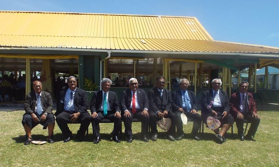 Tuvalu's New Cabinet/吐瓦魯新內閣成員(Photo Credit:  Fenui News )