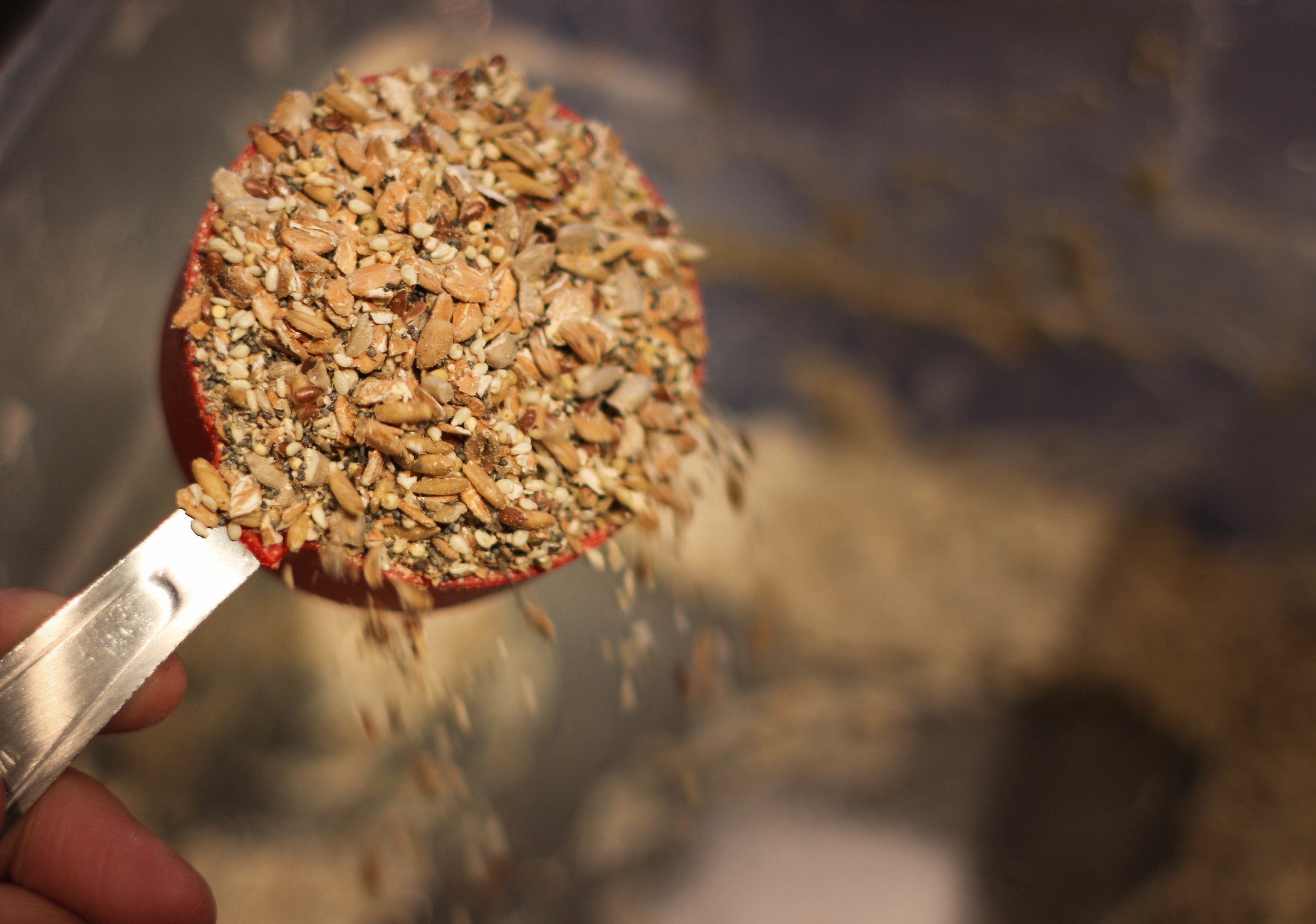 3/4 Cup Whole Grain Mix: Adds great texture, flavor, and yes...healthy goodness.