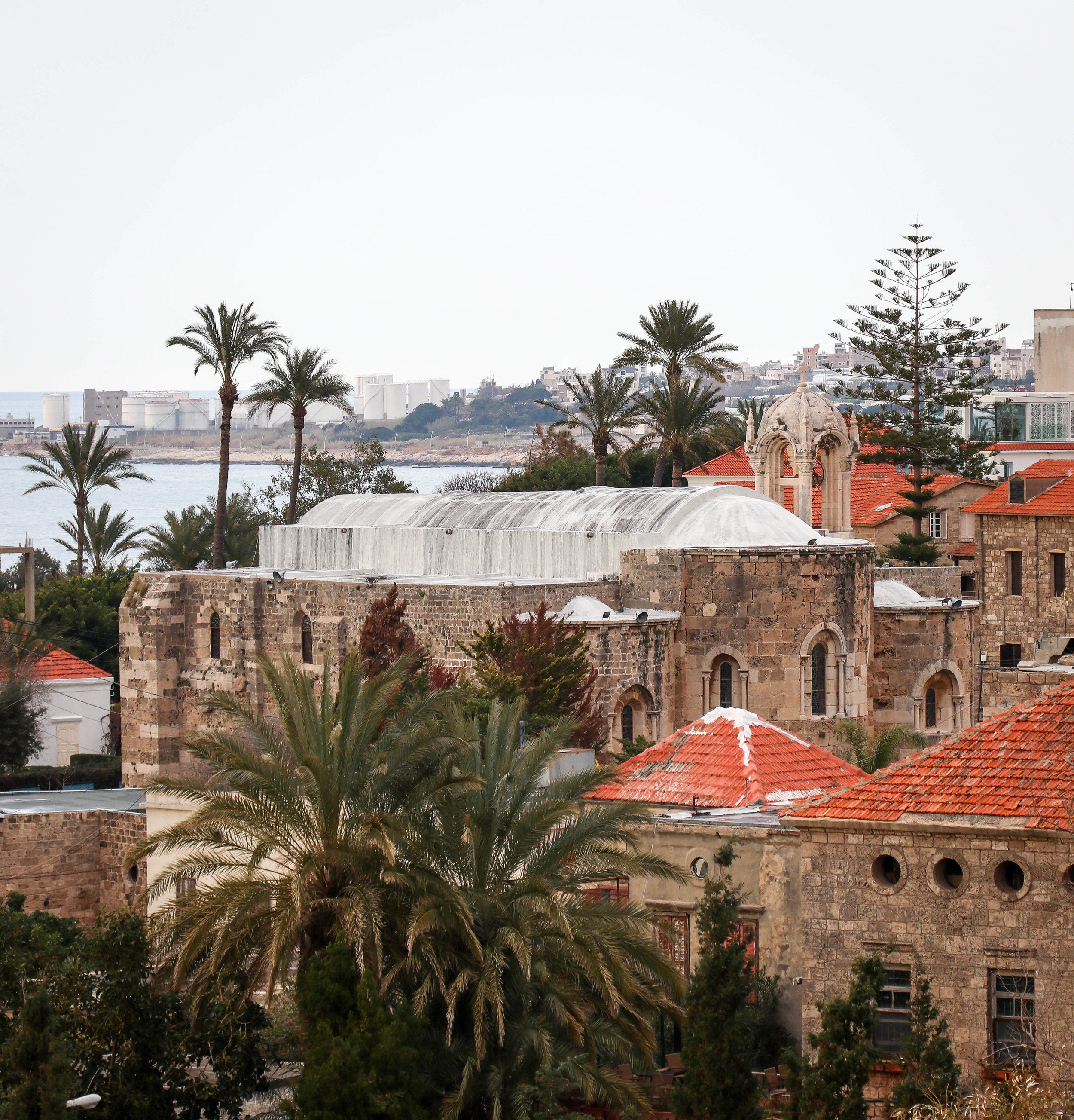 The view from Byblos, Lebanon