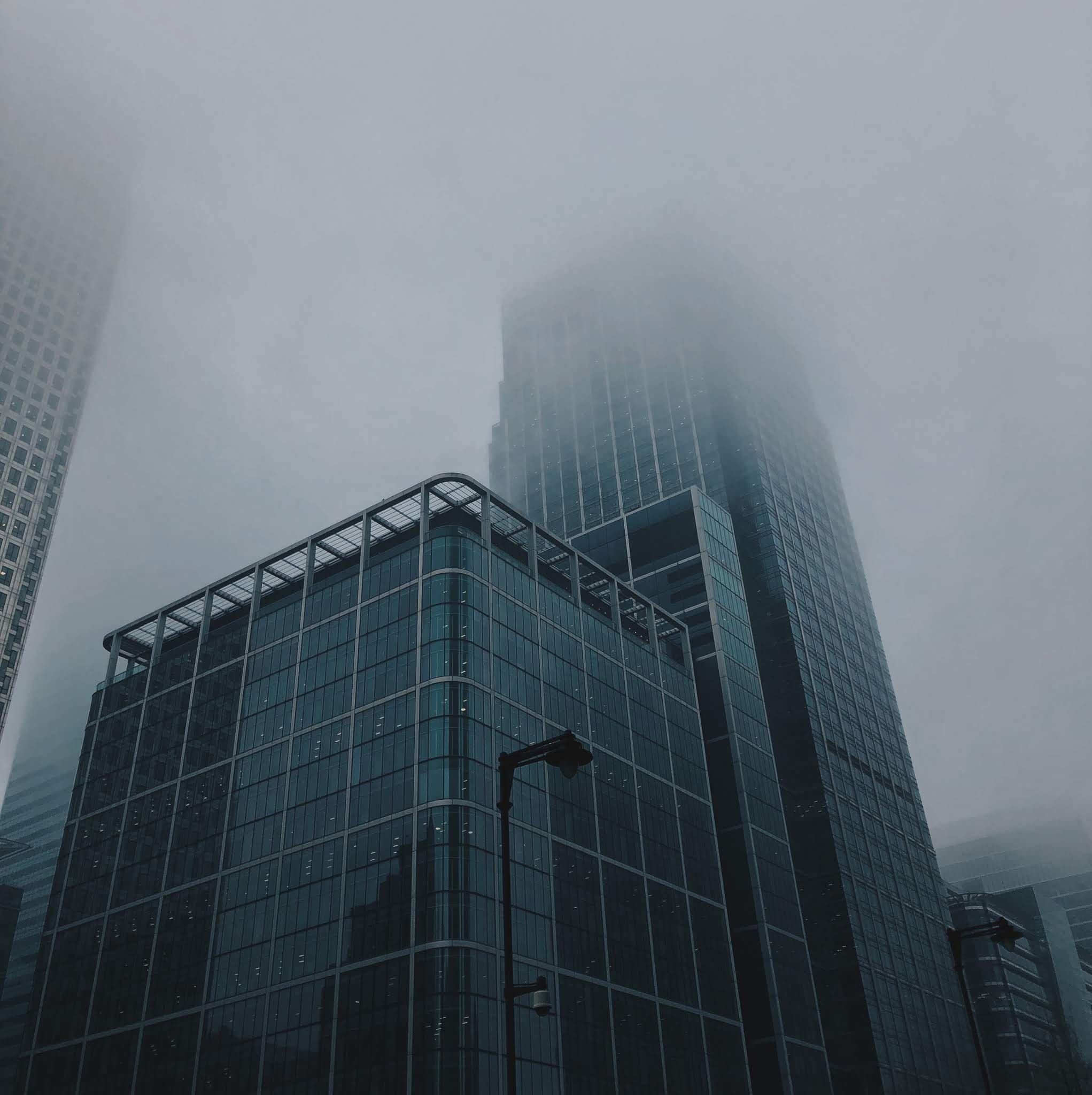 Shot in Canary Wharf, example of a Low Vantage Point