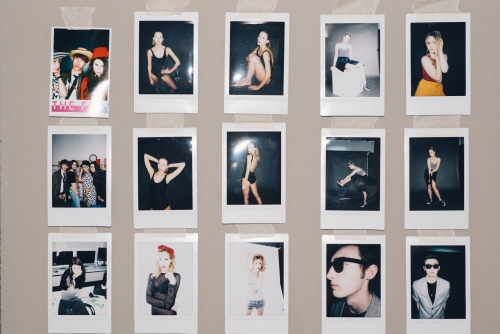 A fraction from my wall of Polaroids