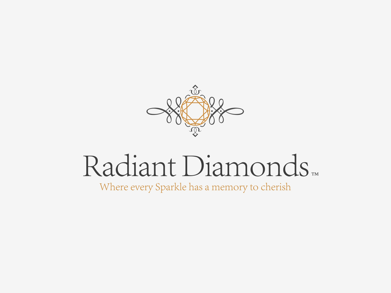 Radiant Diamonds Brand Logo