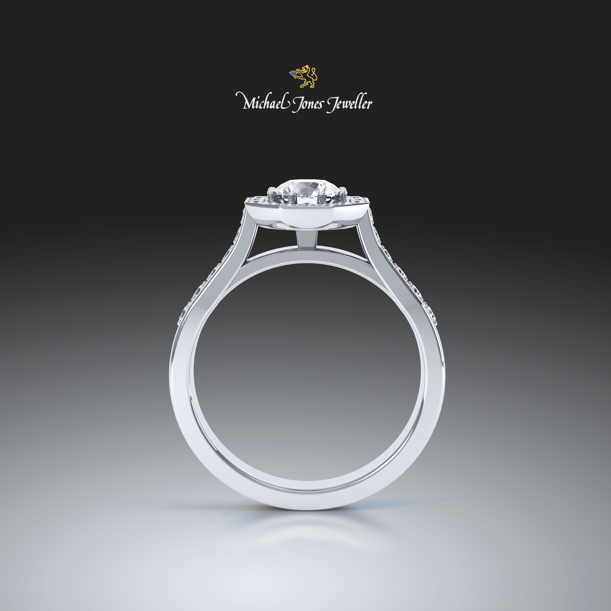 Michael Jones Jewellers - 3D jewellery rendering