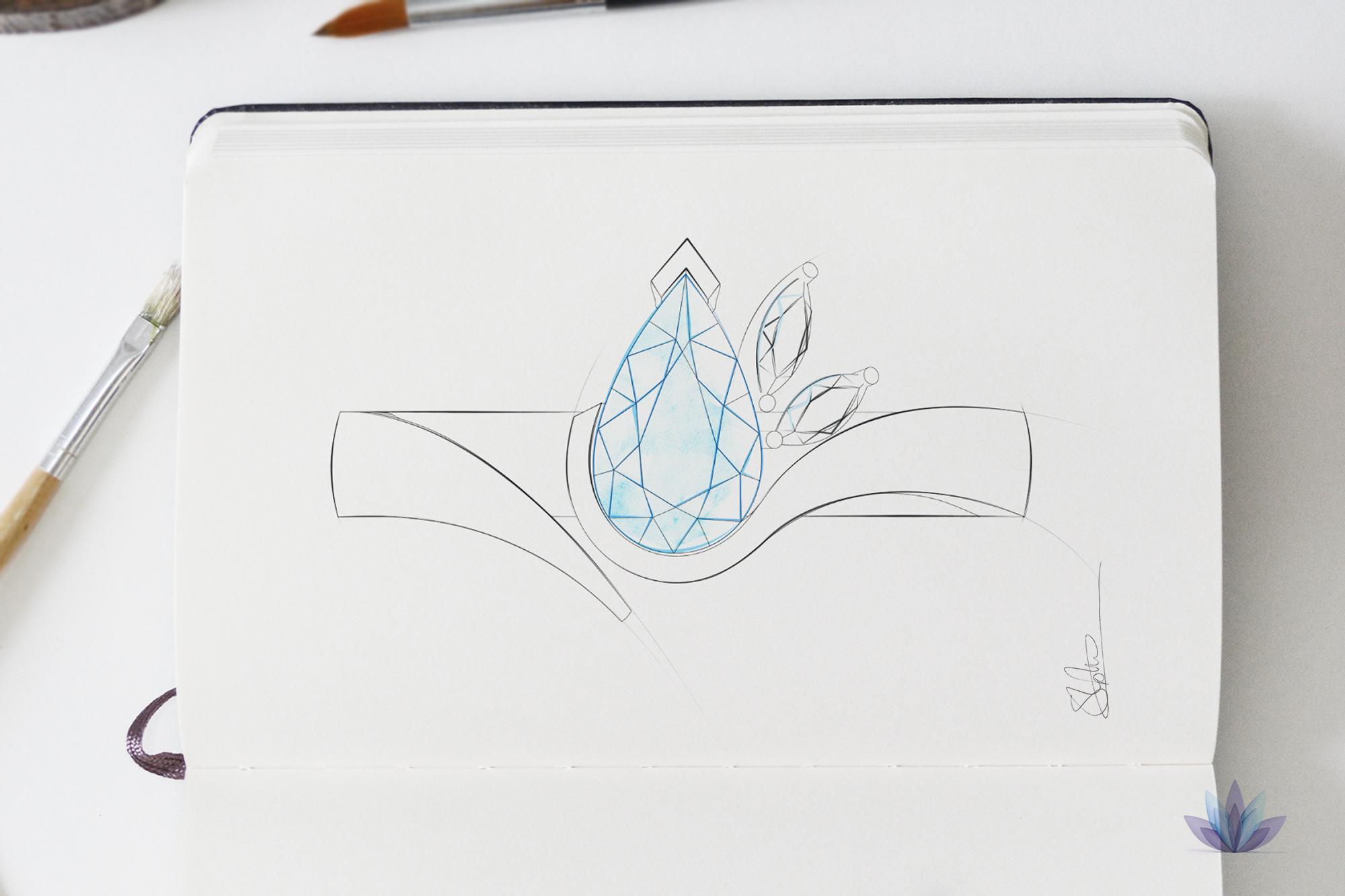 Jewellery Sketch design