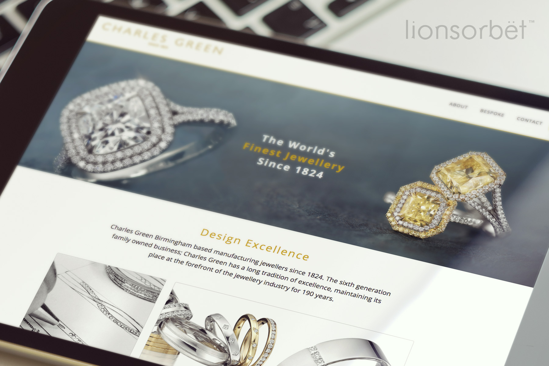 Charles Green & Sons Jewellery Website