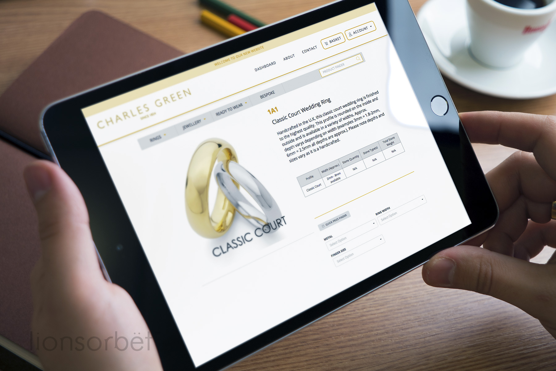 retail jewellery websites