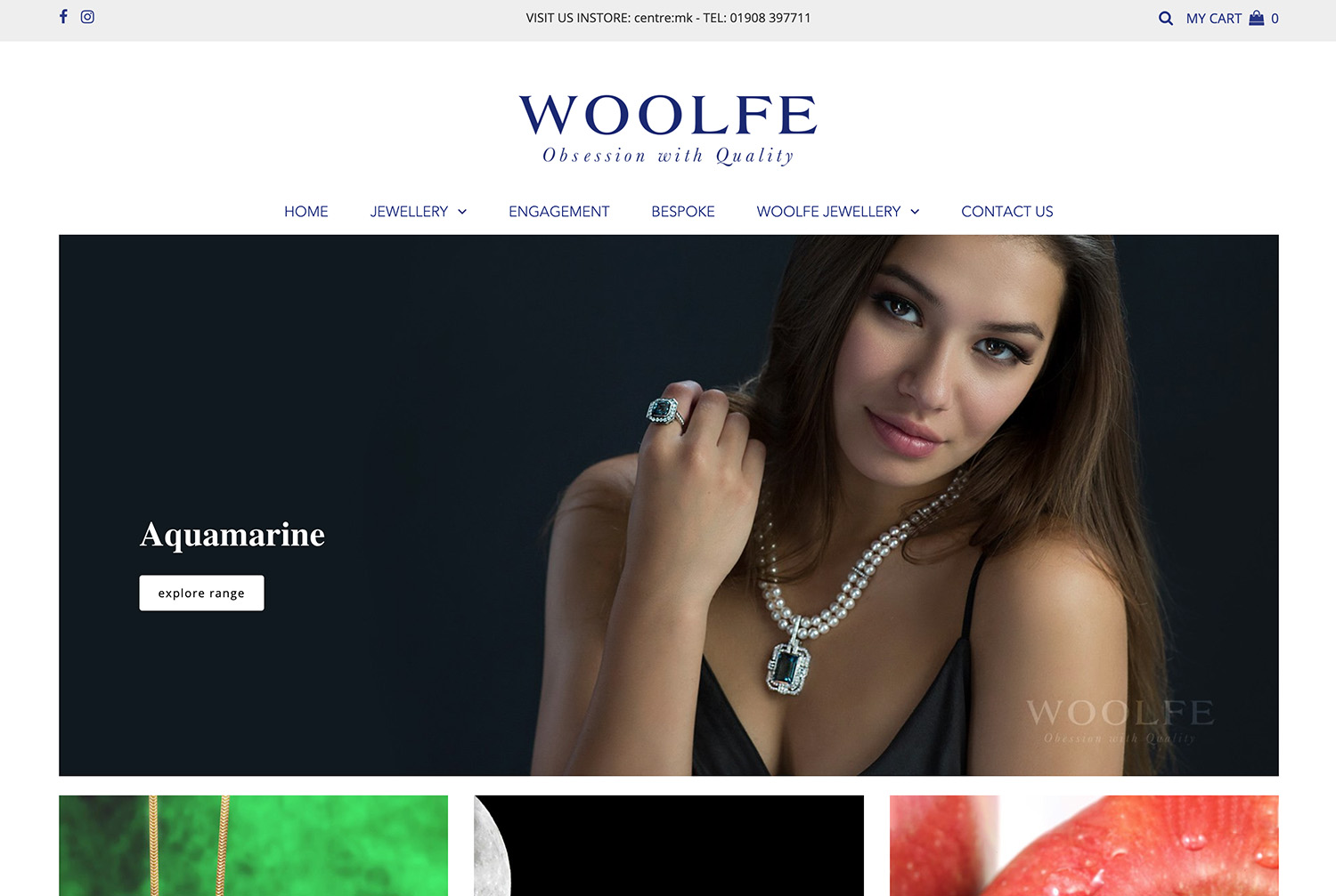 Woolfe Jewellery - Woolfe Jewellery is known as Buckinghamshire's prestigious Jewellery house. Based in the heart of Milton Keynes theyspecialise in contemporarycoloured stonejewellery and beautiful bespoke diamond engagement rings.