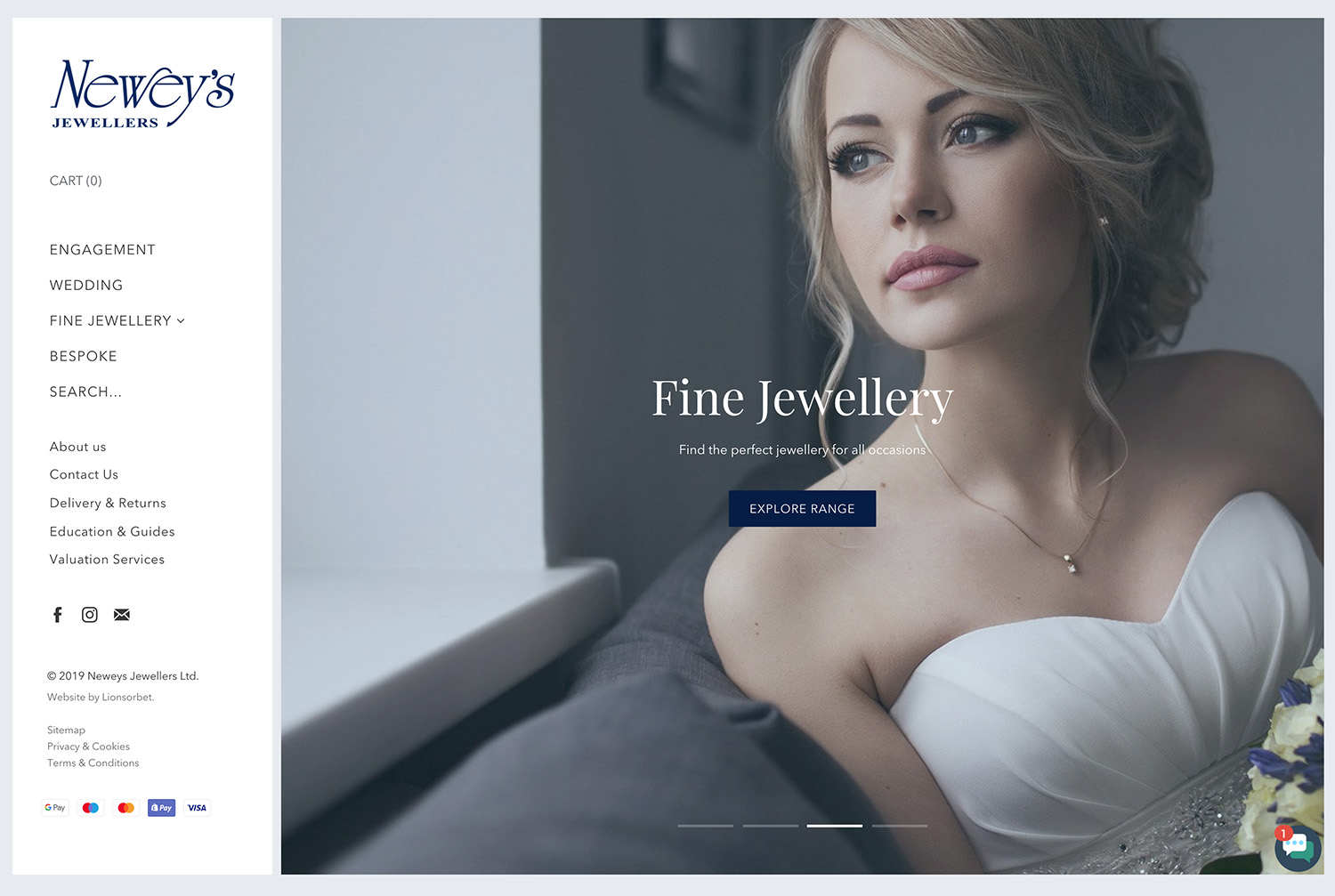 Neweys Jewellers - Newey's Jewellers is a family-run business which has been established for 48 years. With a prominent retail presence in the historic Jewellery Quarter in Birmingham they are known for their expertly crafted, fine diamond jewellery.