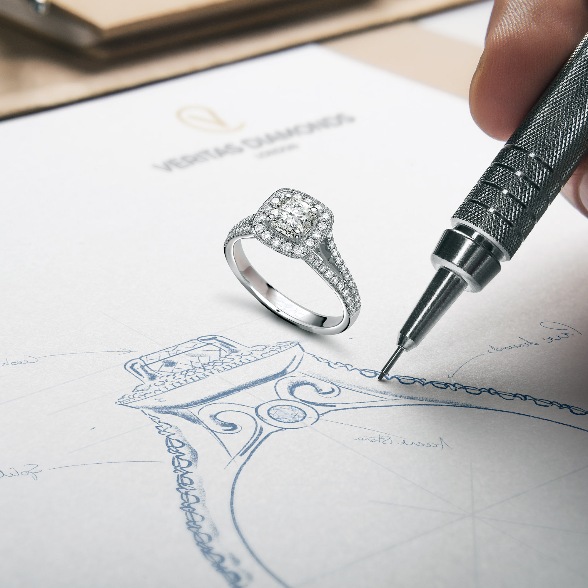 Jewellery Sketching Drawing And Design Service Lionsorbet Website Design Product Marketing