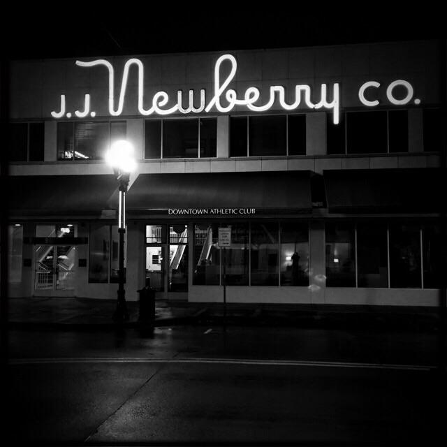 Newberry's? Really?