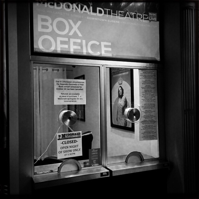 McDonald Theater box office