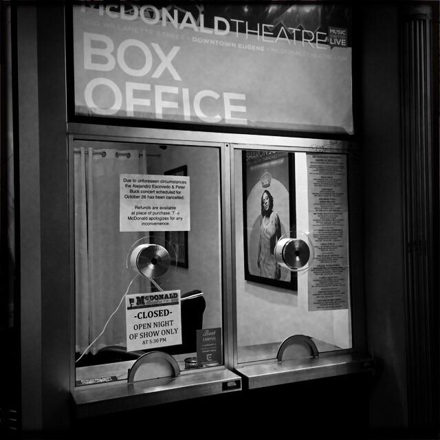 McDonald Theater box office