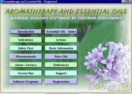 Database of essential oils that are filtered to produce the theraputic oil remedies