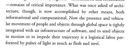 Speed and Politics | Paul Varilio, Introduction: Logistics of Habitable Circulation