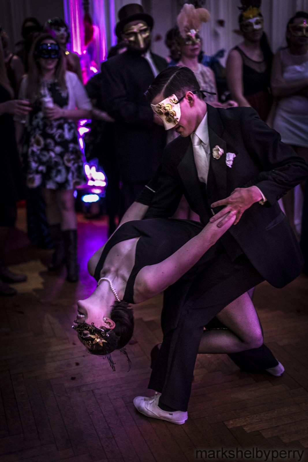 Masquerade Dance Couple
