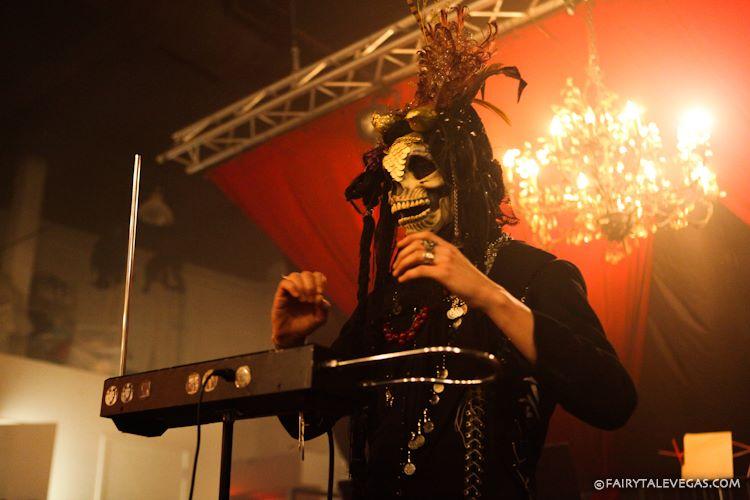 Grim Reaper DJ / Theremin Player