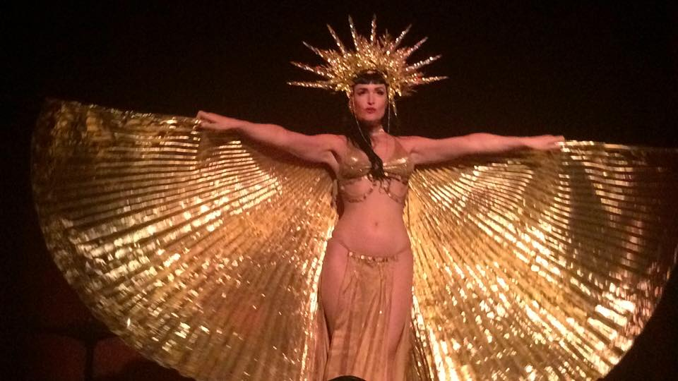 Gold Isis Showgirl