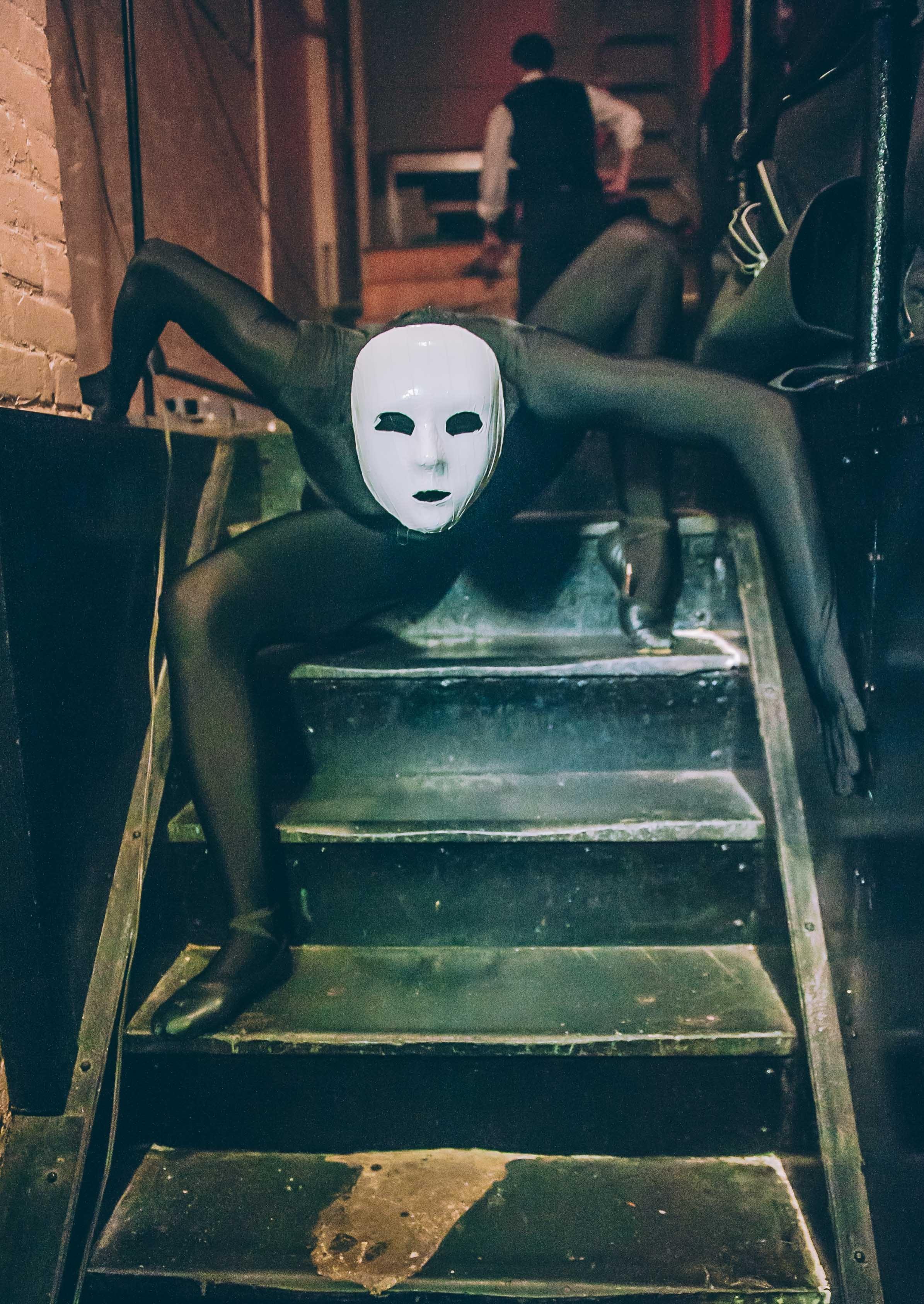 Masked Shadow Contortionist / Photo: Jane Kratochvil