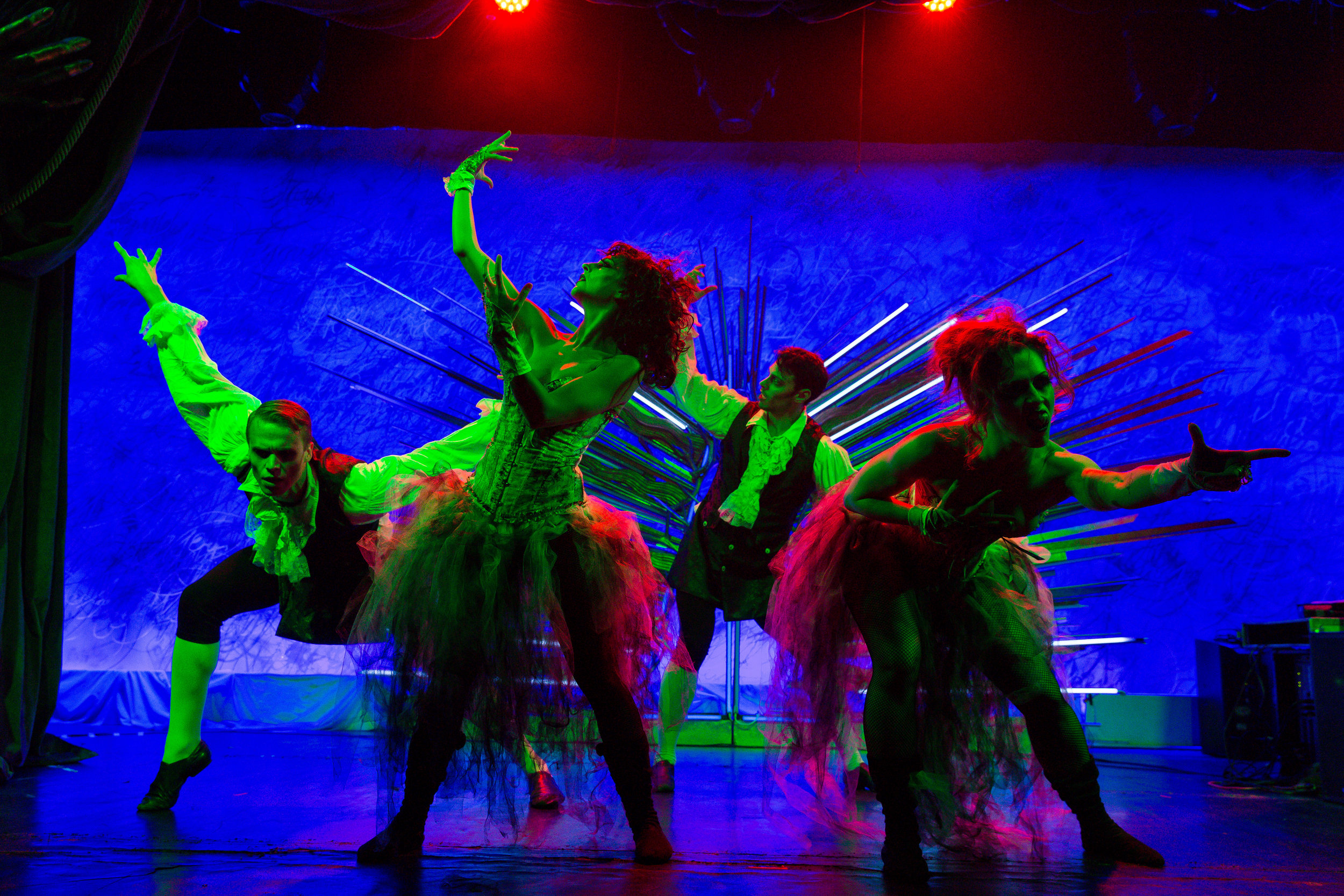 Undead Dancers / Photo: Eric Vitale