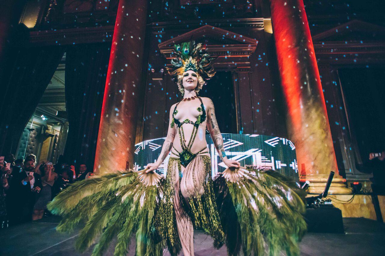 Art Deco Showgirl