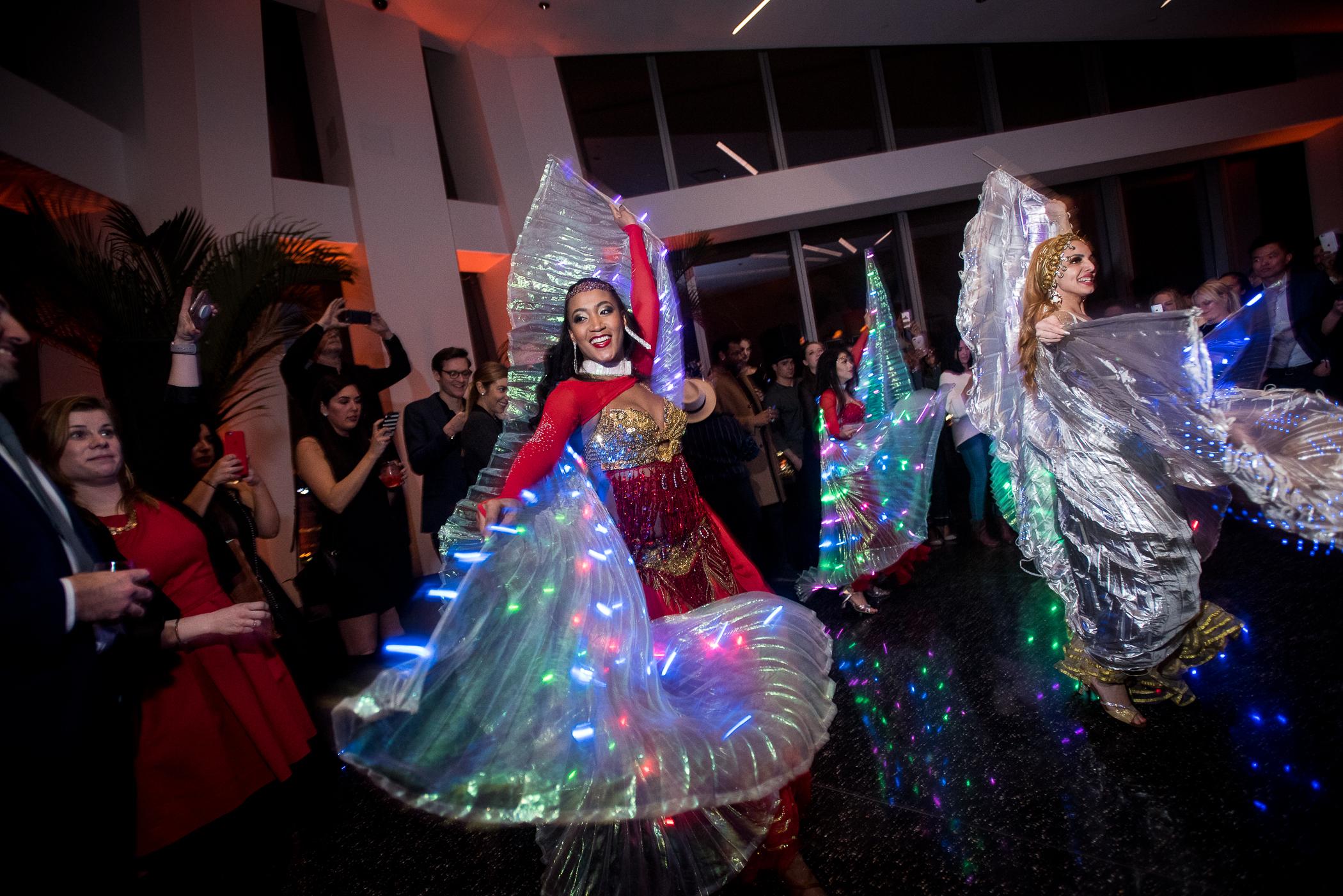 LED Wing Dancers