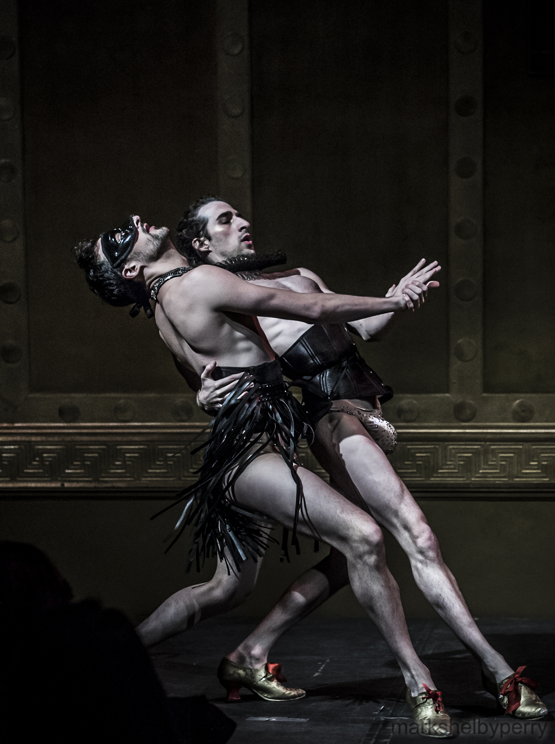 Fetish Themed Tango Dancers