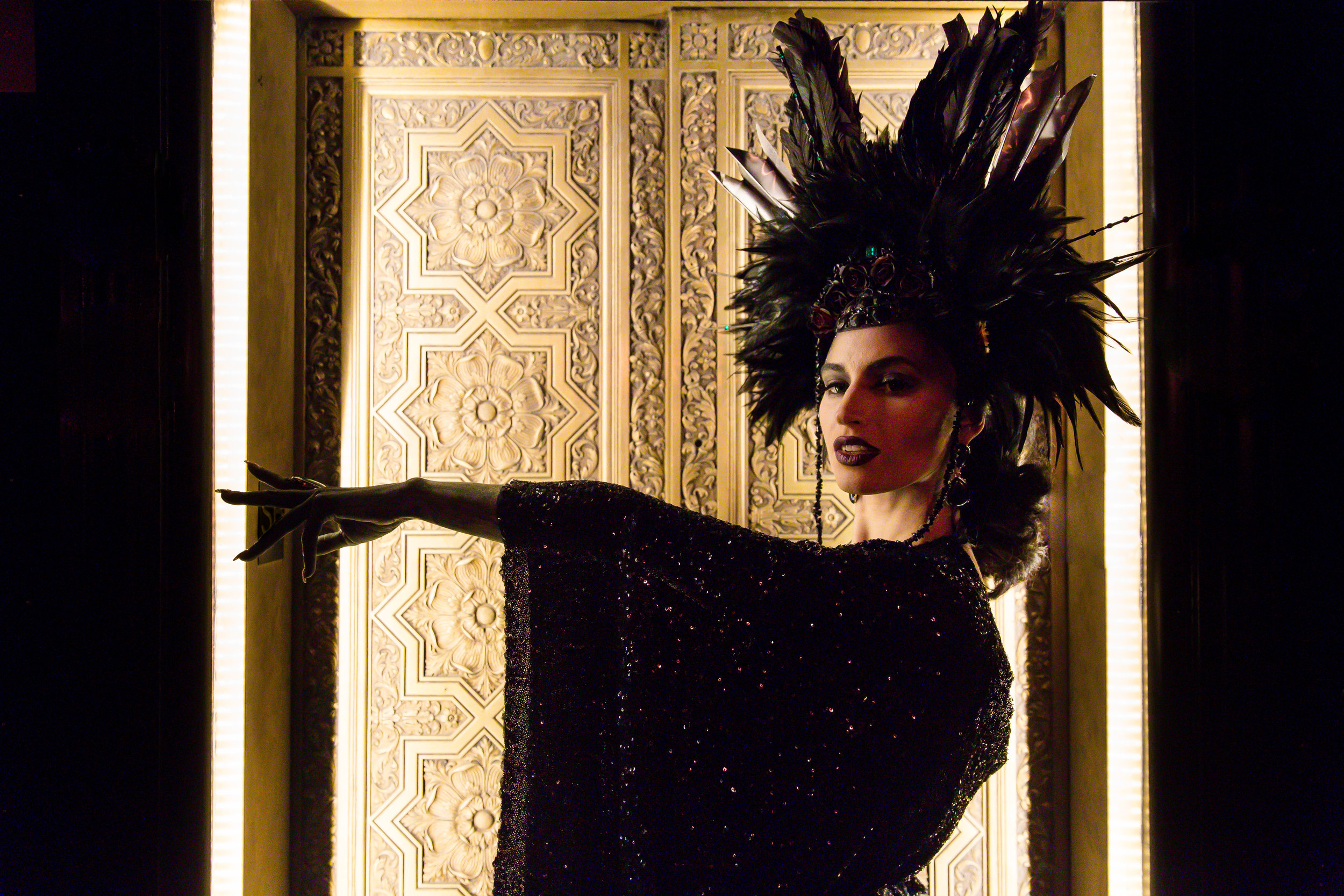 Black Feather Showgirl