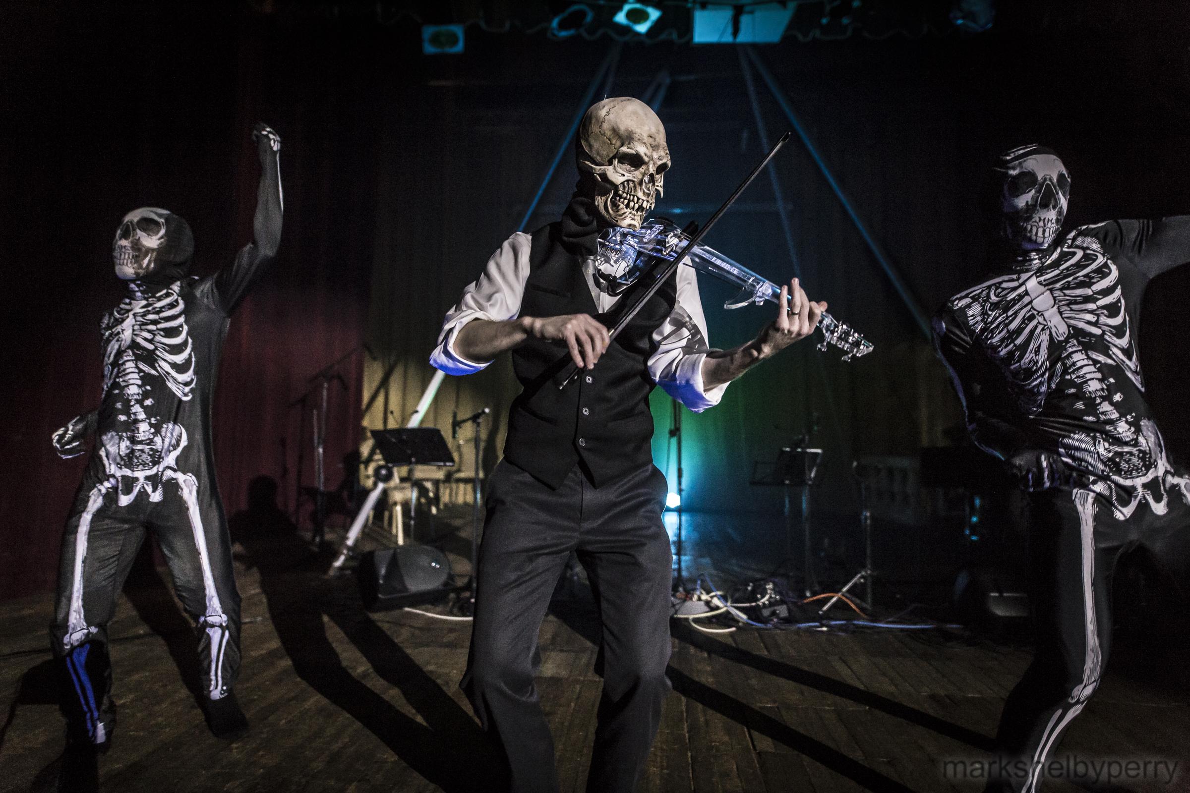Skeleton Band and Dancers