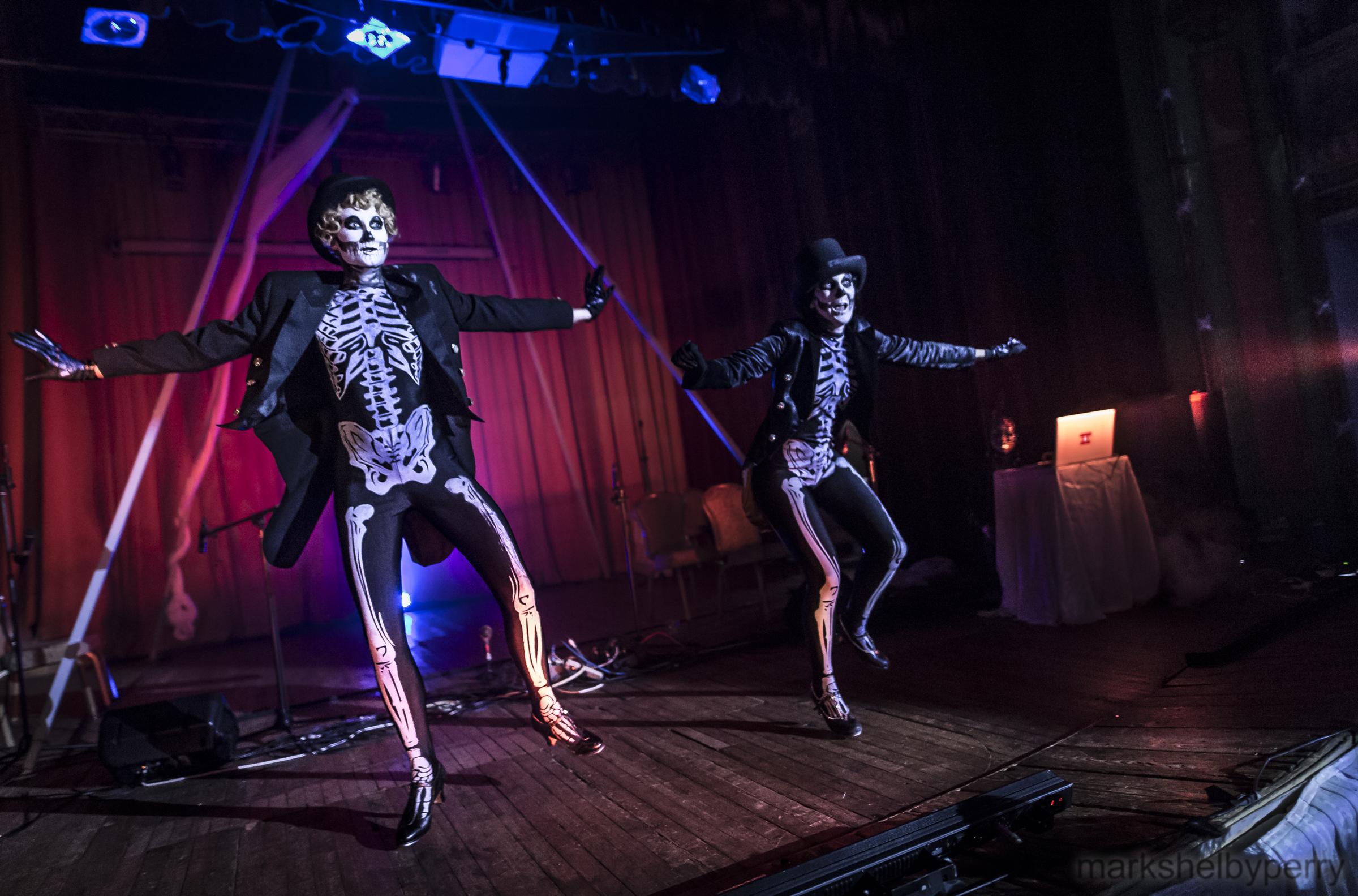 Tap Dancing Skeletons