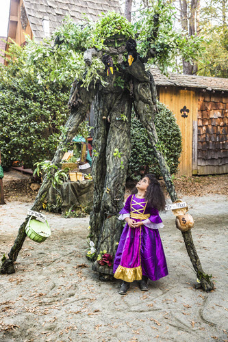 Tree Character Stilt Walker