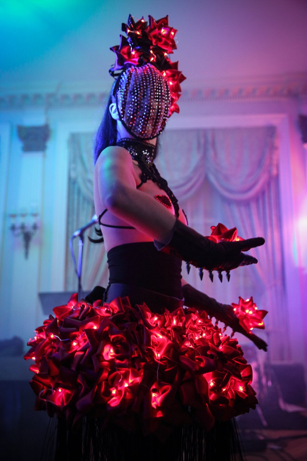 LED Couture Dancer