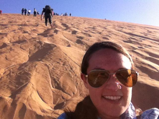 Steph at Dune 7