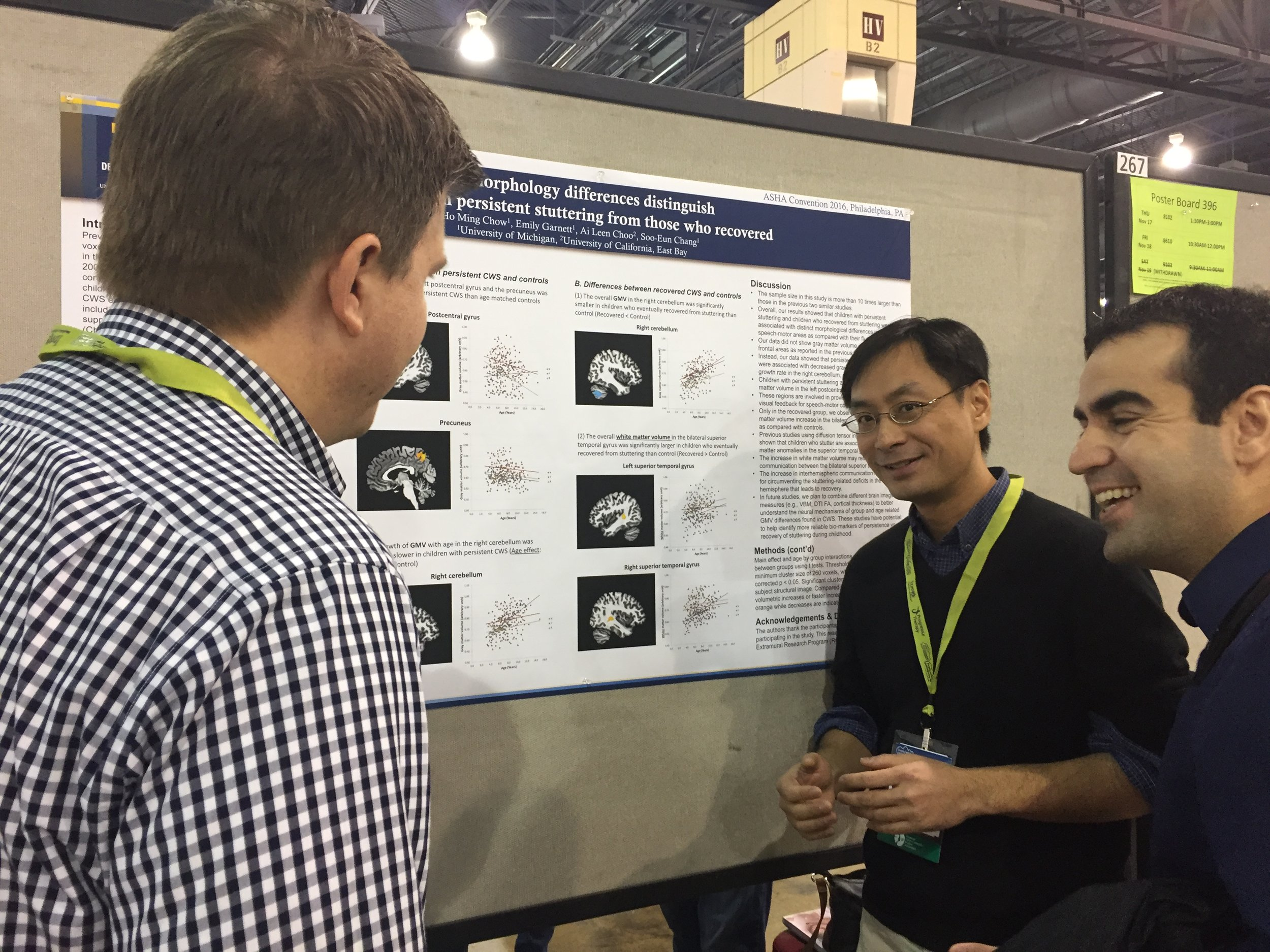 Dr. Chow in action at ASHA 2016