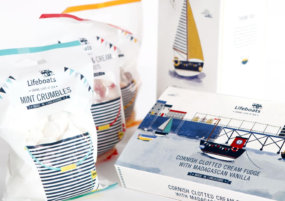 RNLI - Packaging - Vicki Turner