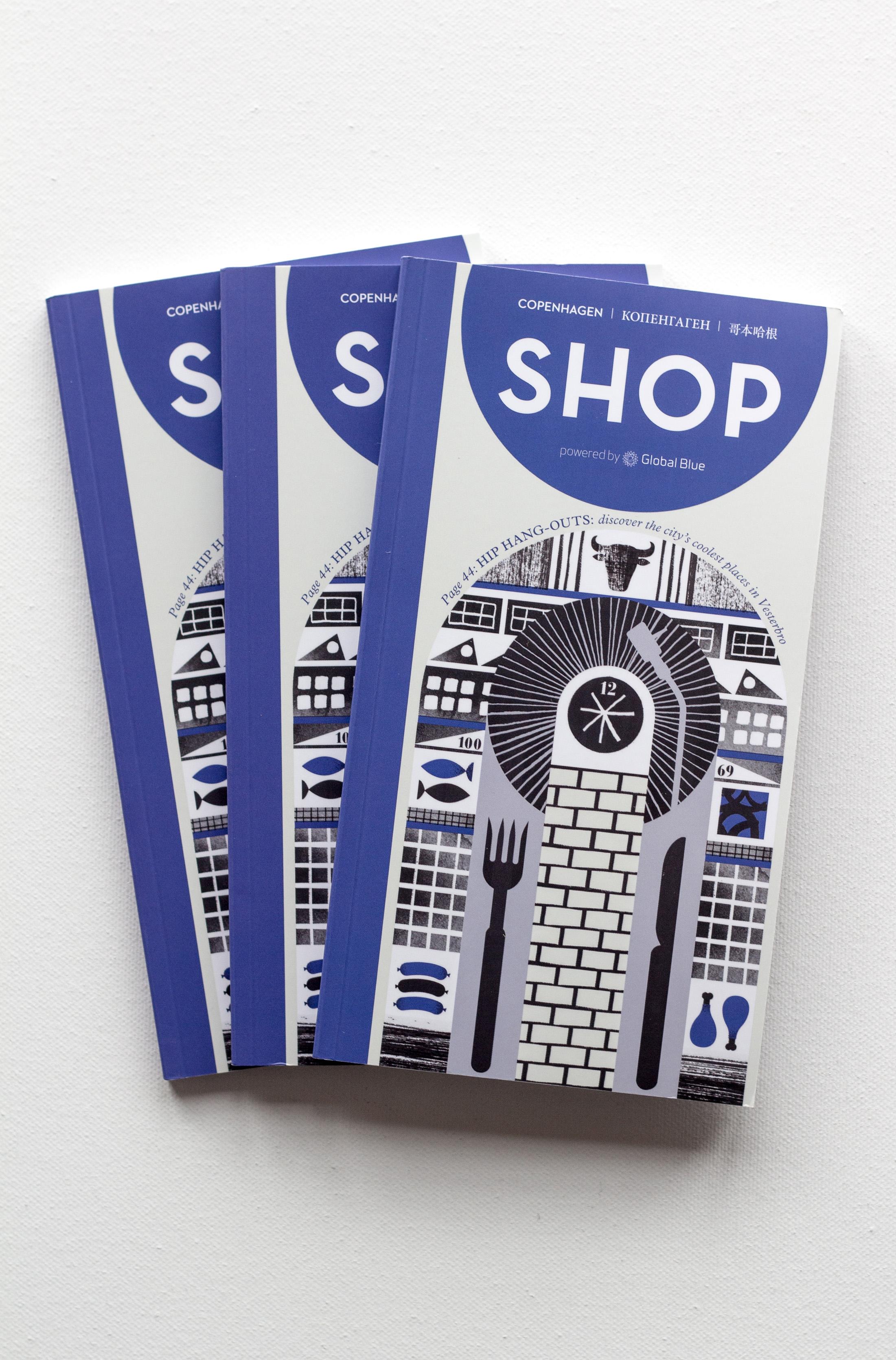Shop Magazine Cover Art - Vicki Turner