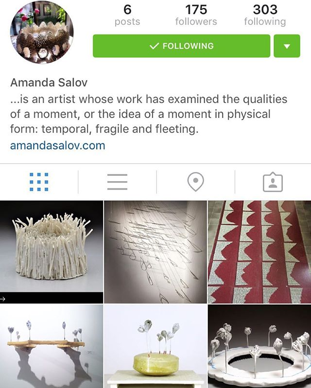 Amanda Salov now as an Instagram for her art which means you all should go follow that. Great work and a nice gal. Can't wait to see more new work! @amandasalov.art