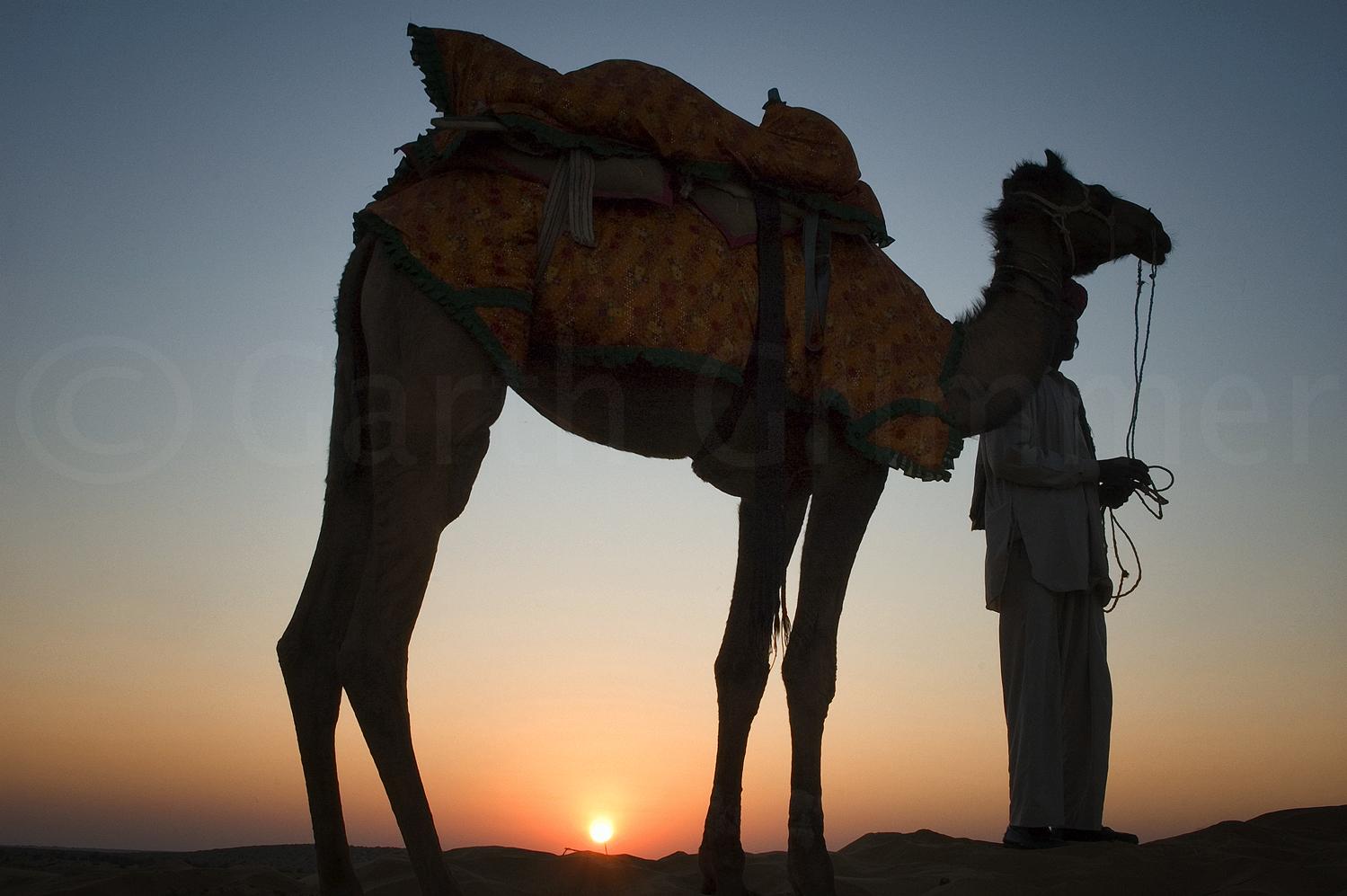 Sunset at That Desert