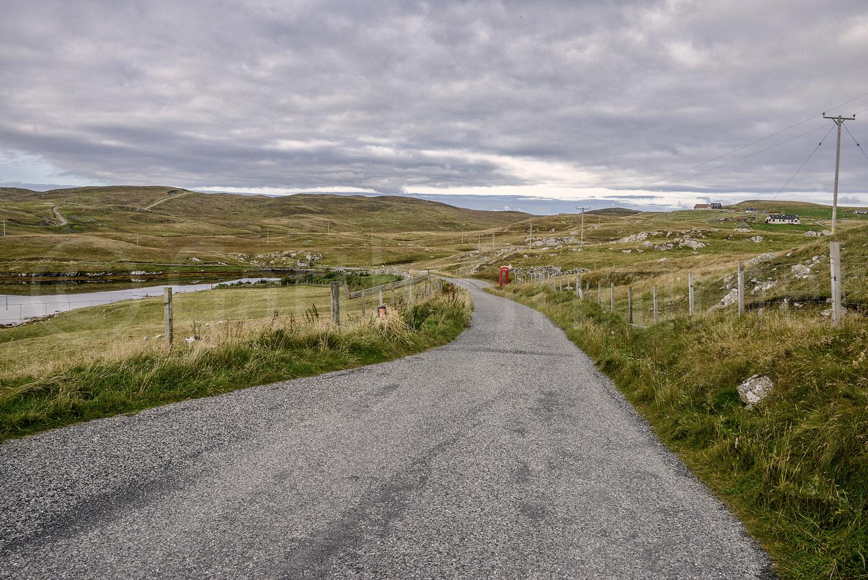 The nearest phone, Burrastow, Shetland