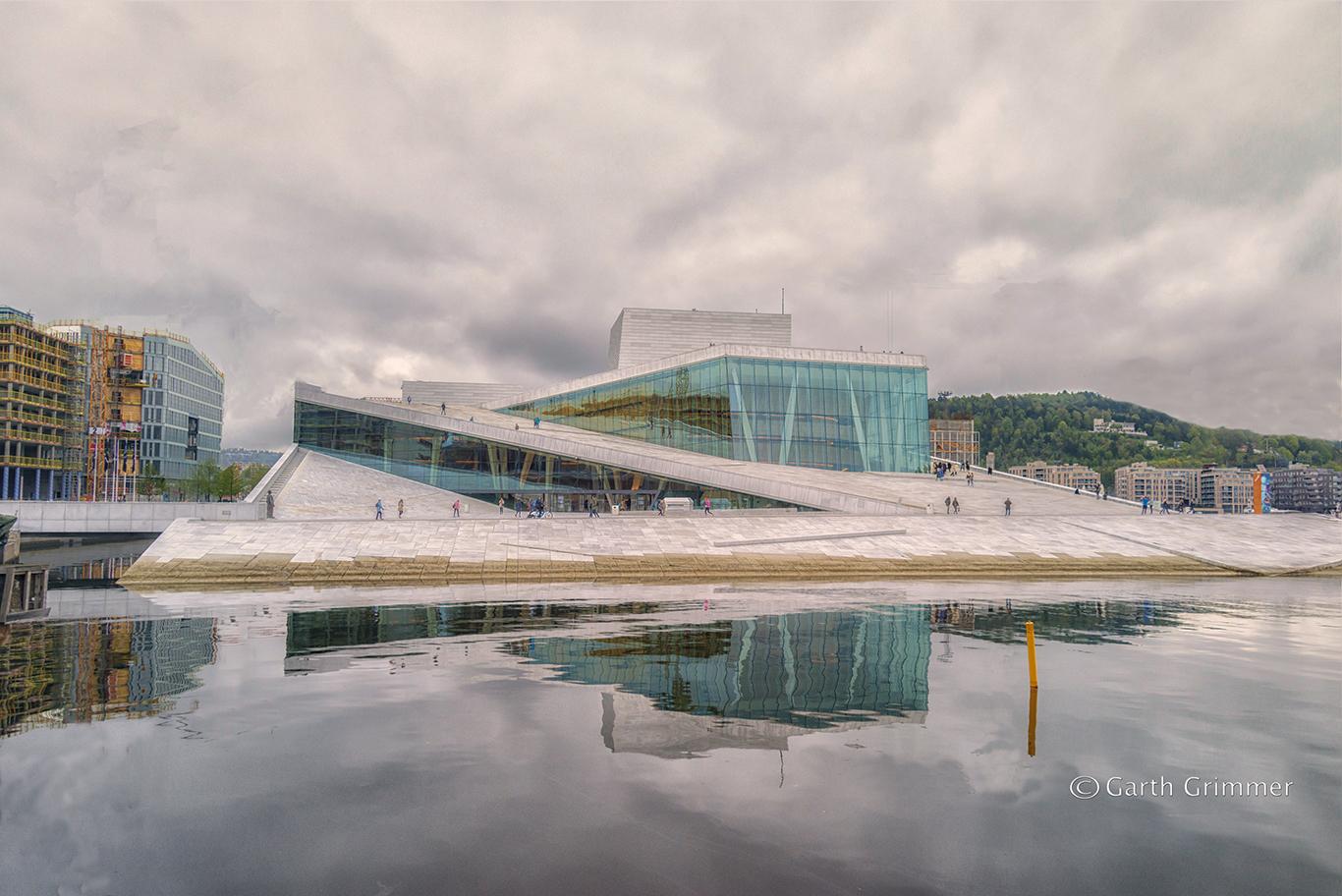 Norway - Oslo -Opera House