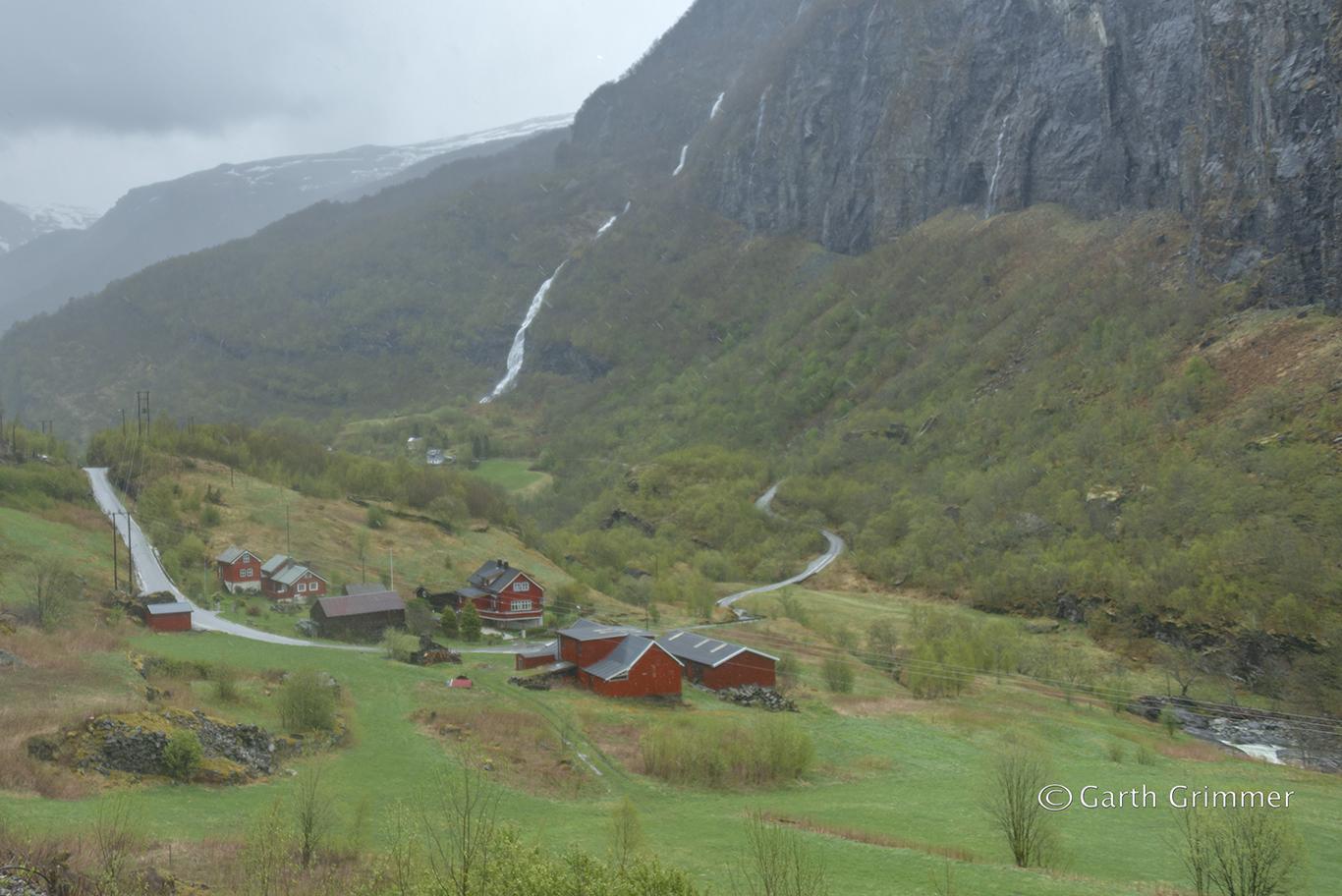 Norway - Kjosfossen