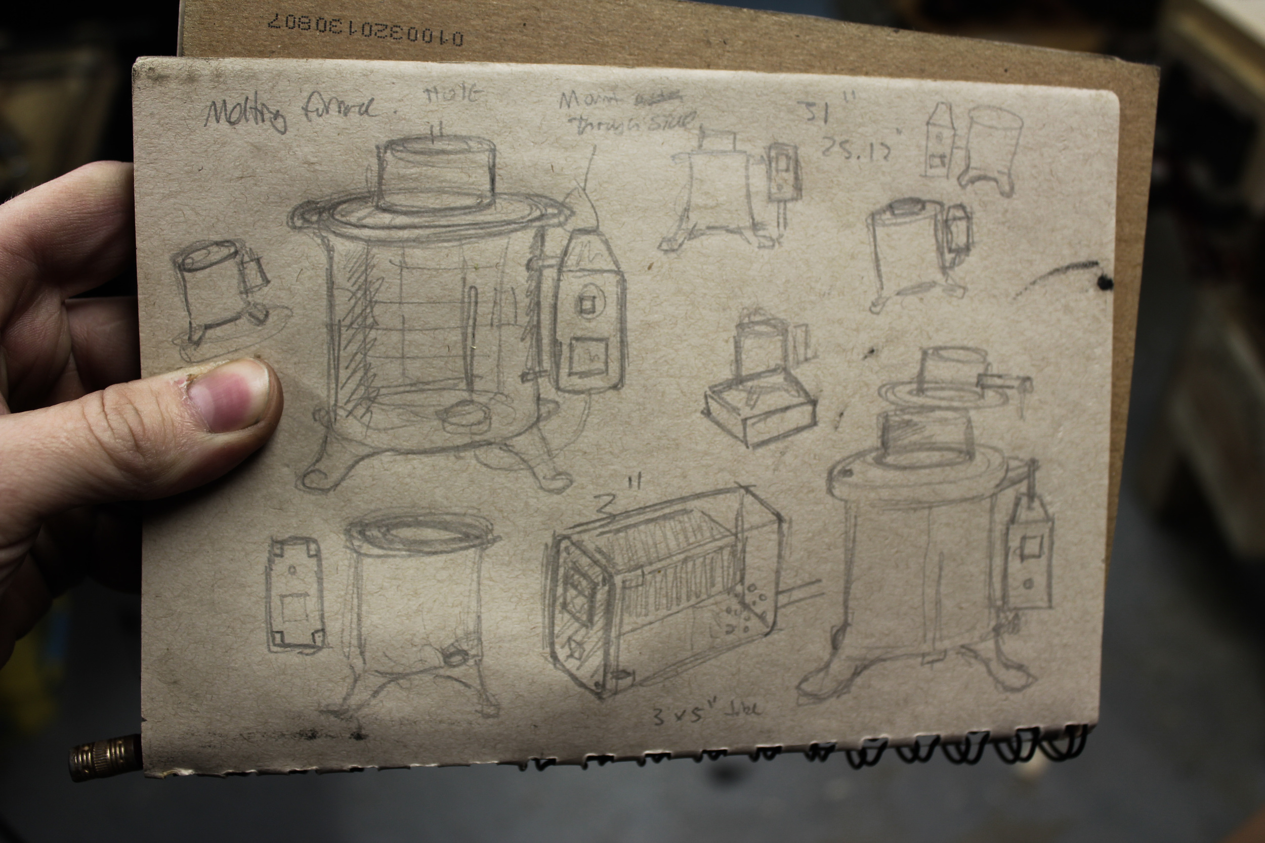 Furnace configuration sketches