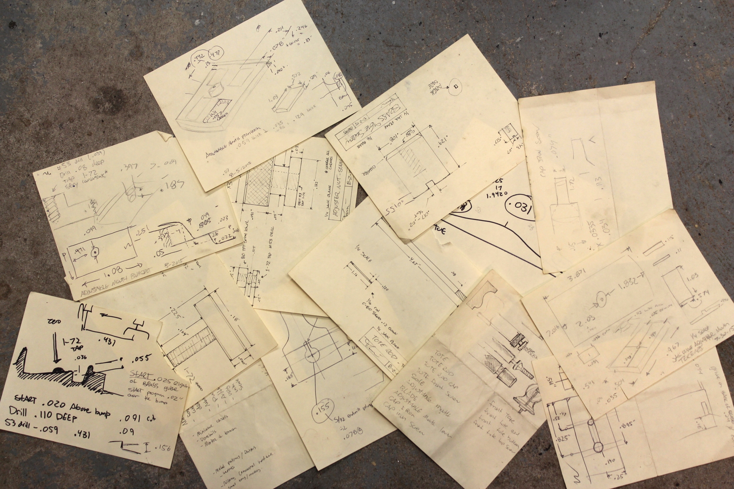 A portion of the drawings
