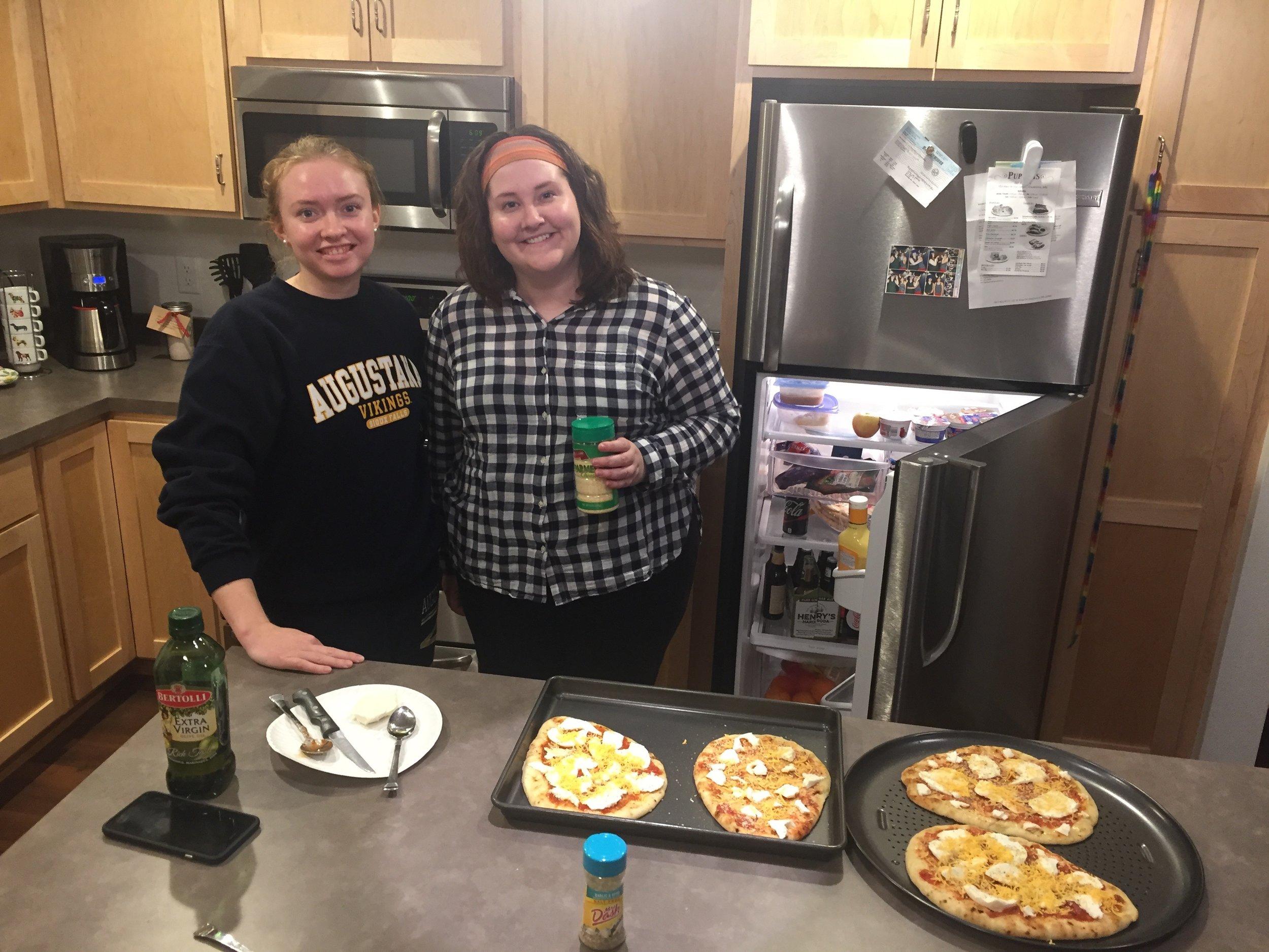 Homemade pizza night!