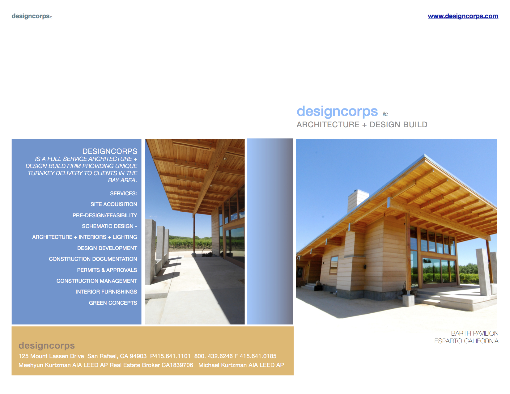 Flyer Page One