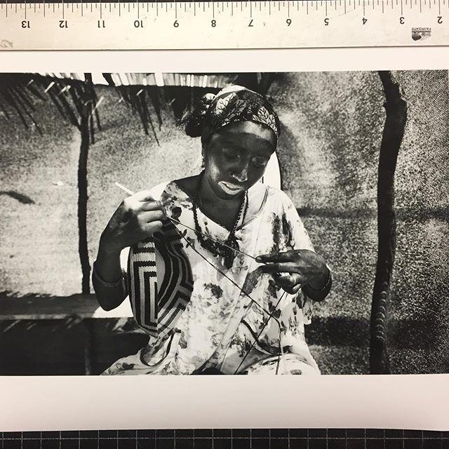 Printing #photography #bwphotograpy #wayuu #mujerestejedoras #weaver #ancestralpower