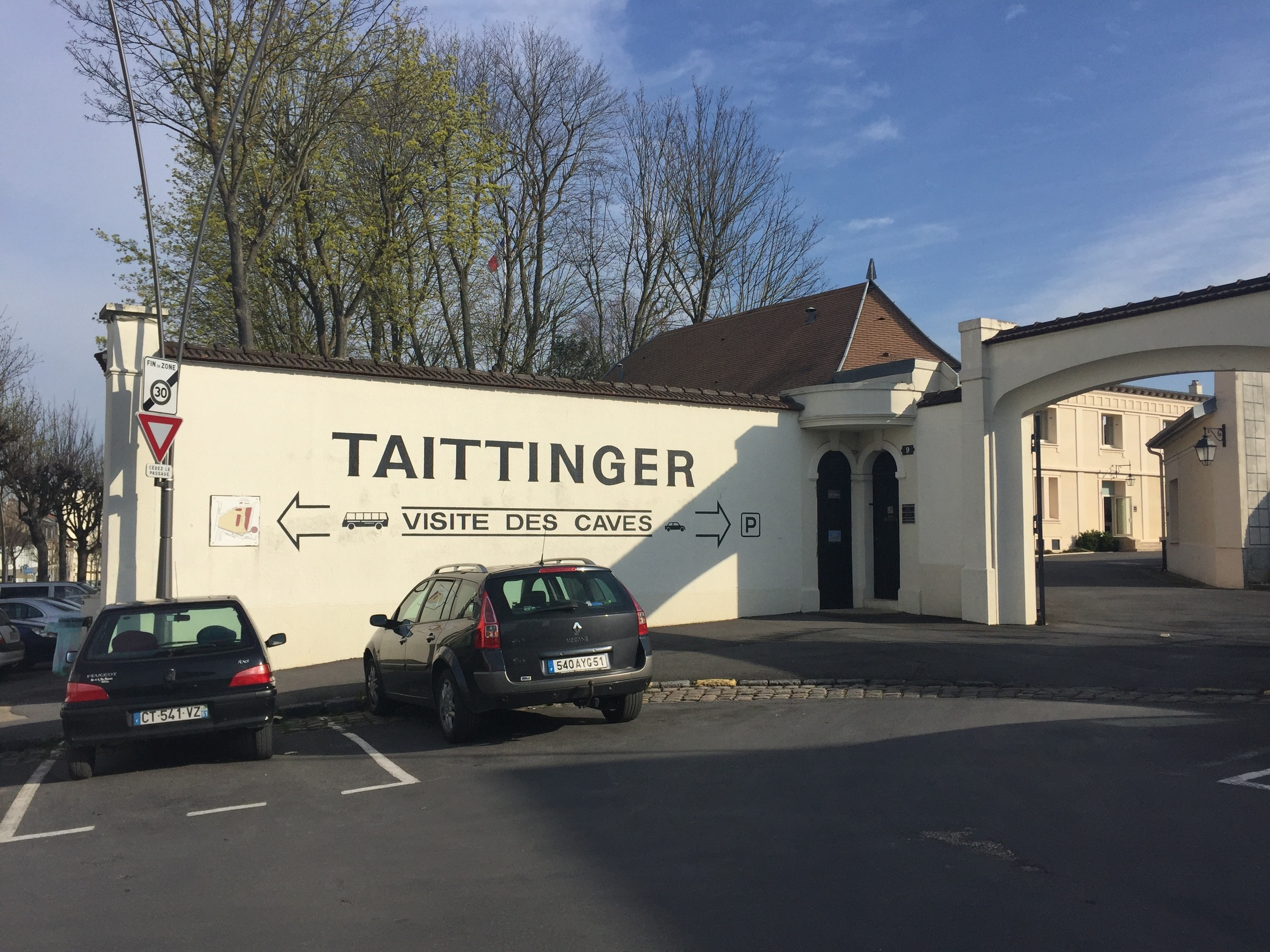 Taittinger Champagne House