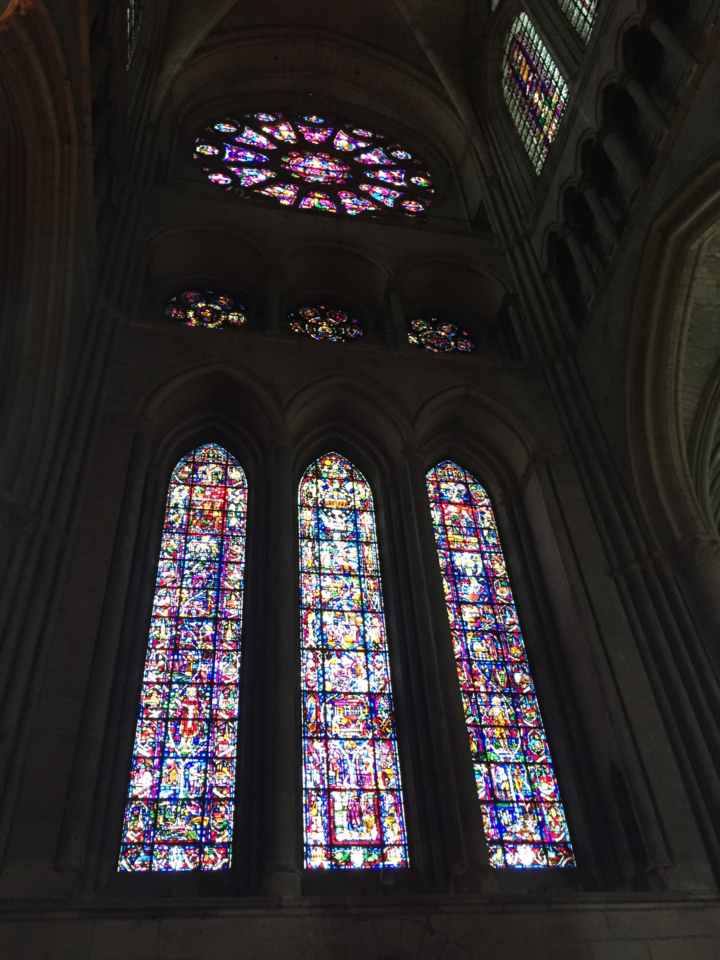 Reims Cathedral Stained-Glass Windows