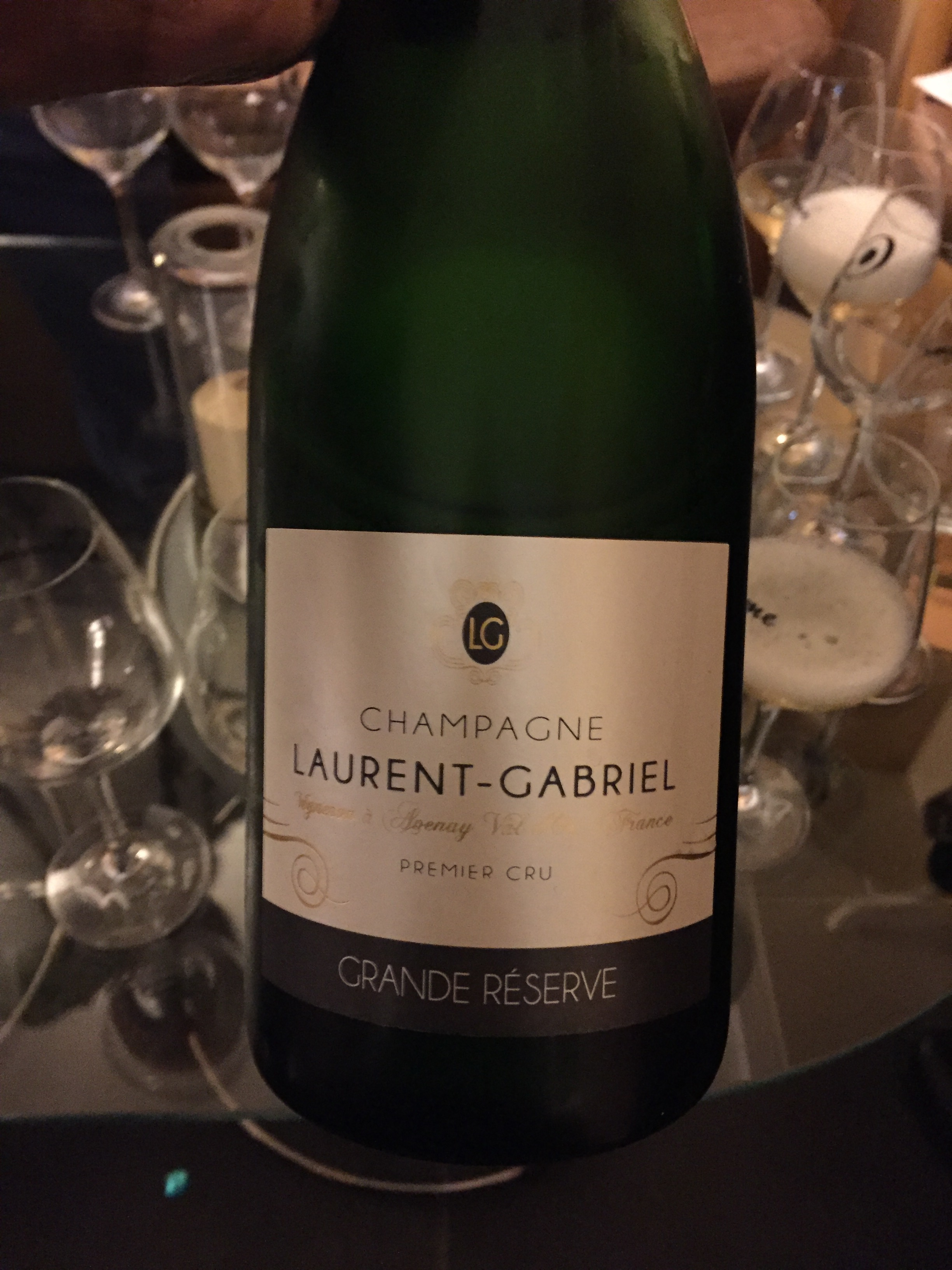 Small grower champagne for tasting