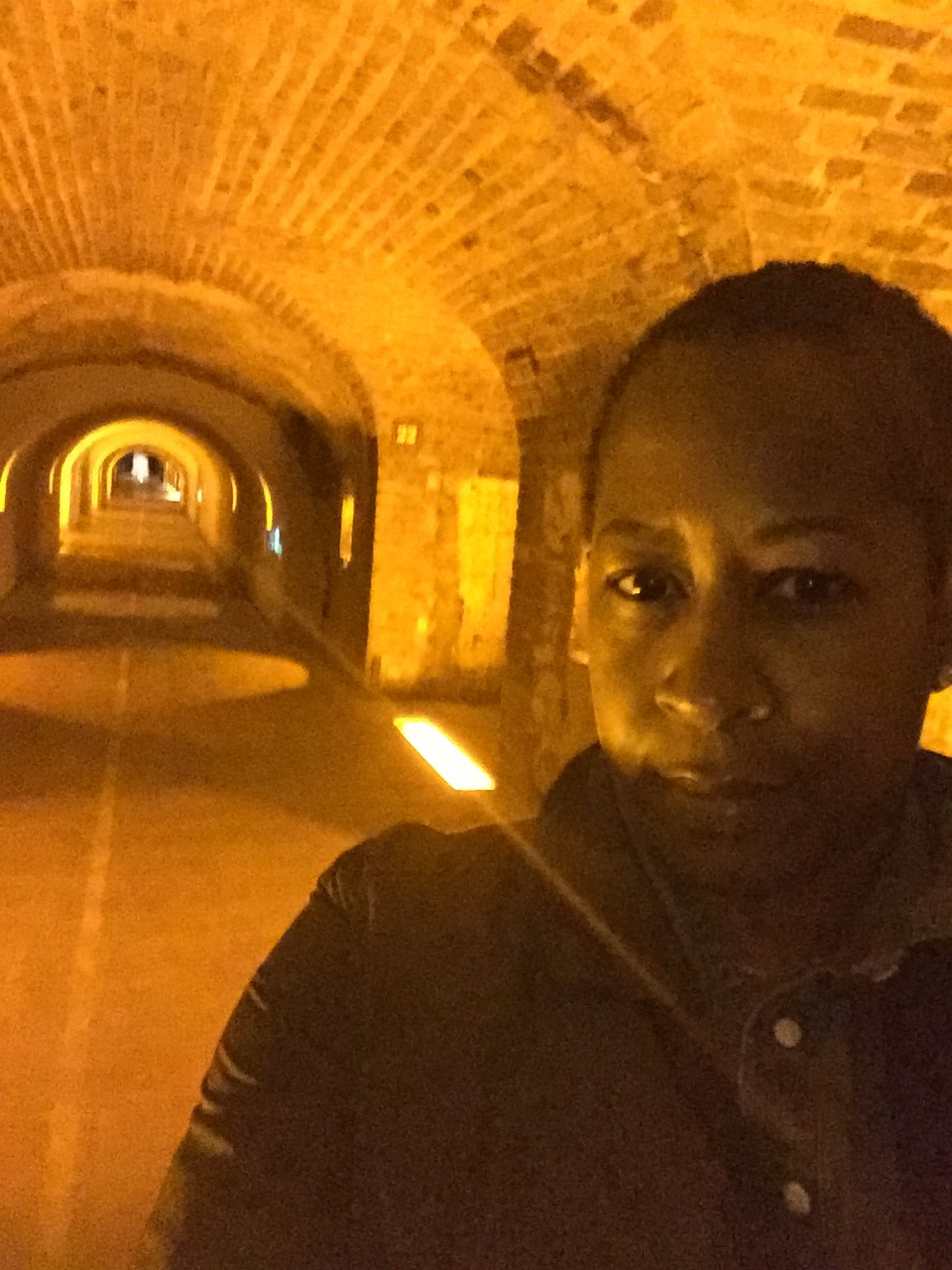 In the Moët caves